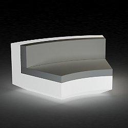 Vela Curved Sectional Sofa Illuminated