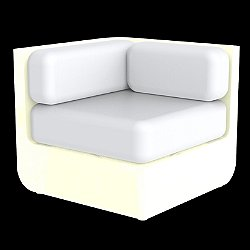 Ulm Sectional Sofa Corner Illuminated