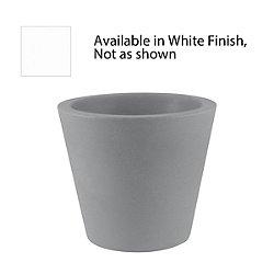 Cone Planter by Vondom (47-In/White) - OPEN BOX RETURN