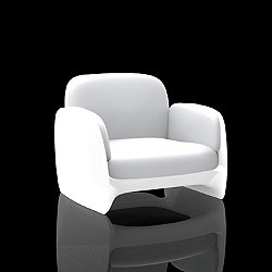 Pezzettina Lounge Chair, Illuminated