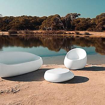 Stone Lounge Chair - Table and Sofa