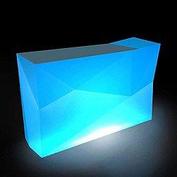 Faz Double Counter with Ice Bucket, Illuminated