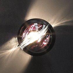 POC FA 16 Wall / Flushmount (Crystal/Black) -OPEN BOX RETURN
