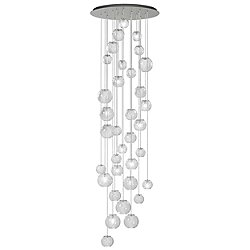 Oto SP Rain Circle Chandelier