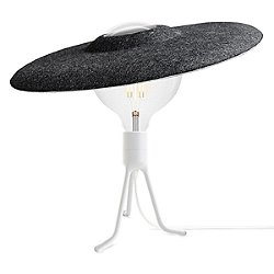Shade Tripod Base LED Table Lamp