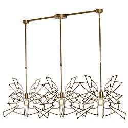 Monarch 3 Light Multipoint Pendant Light