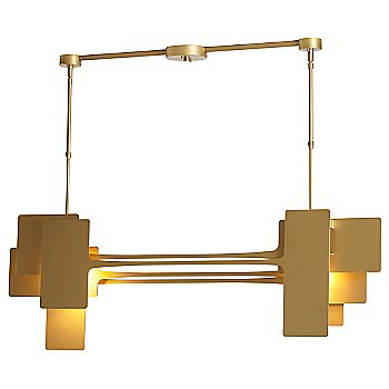 Shown lit in Gold finish