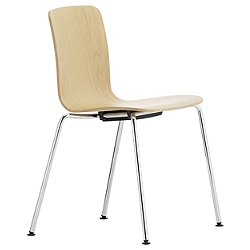 HAL Ply Chair with Steel Tube Base