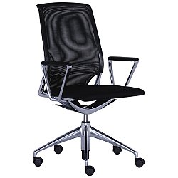 Meda Office Task Chair with Mesh Backrest