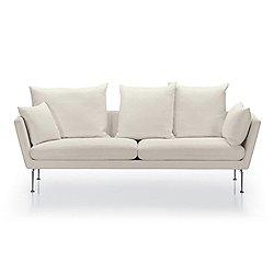 Suita Three Seater Sofa, Pointed Cushions