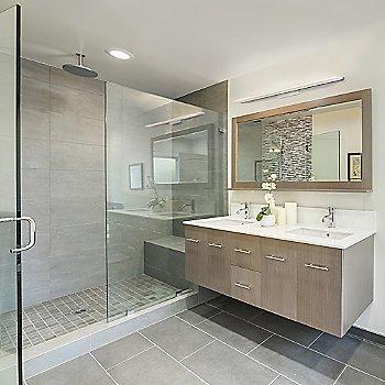 Level Bath Bar, in use