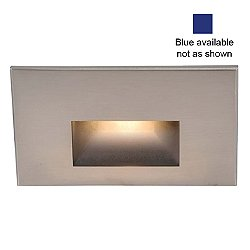 LED100 LEDme Step Light (Blue/Nickel) - OPEN BOX