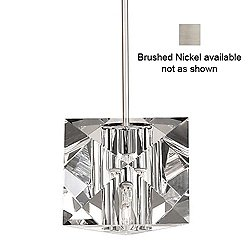 Prisma Pendant Light (Brushed Nickel/Quick Connect Connector) - OPEN BOX RETURN