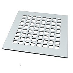 Checkered Designer Shower Drain - Strainer Only