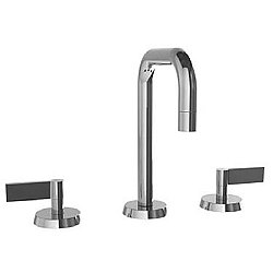 Blue 37 Widespread Square Arch Spout Faucet