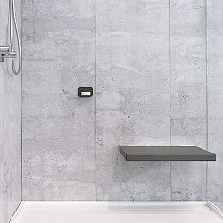 Cube Large Wall Mounted Shower Seat