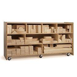 Big Block Storage Cabinet
