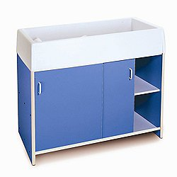 EZ Clean Infant Changing Cabinet