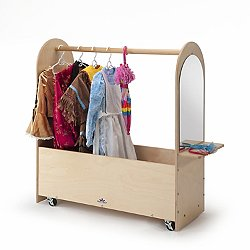 Portable Dress-Up Rack