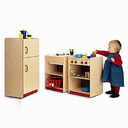 Toddler Play Kitchen Set