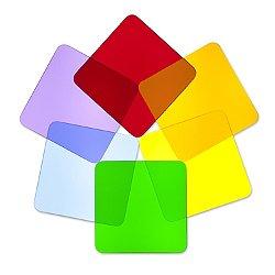 Color Wheel Acrylic Squares