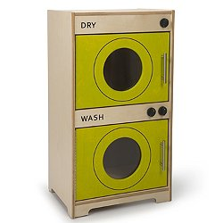 Contemporary Kitchen Play Washer Dryer