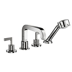 Citterio Deck-Mount Double-Handle Tub Faucet Trim with Lever Handles