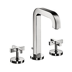 Citterio Deck-Mount Widespread Faucet with Cross Handles