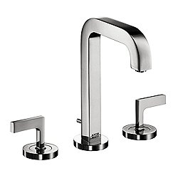 Citterio Deck-Mount Widespread Faucet with Lever Handles