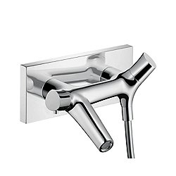 Starck Organic Wall-Mount Thermostatic Tub Filler