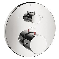 Starck Thermostatic Trim with Volume Control and Diverter