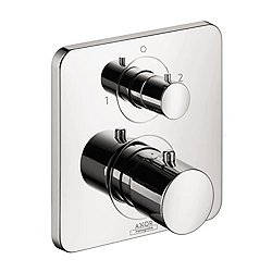 Citterio M Thermostatic Trim with Volume Control and Diverter