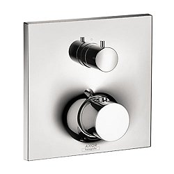 Massaud Thermostatic Trim with Volume Control and Diverter