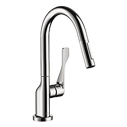 Citterio 2-Spray Prep Kitchen Faucet Pull Down