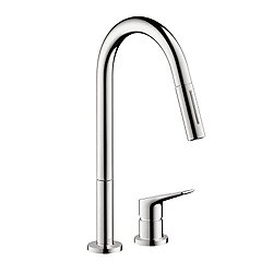 Citterio M 2-Hole Kitchen Faucet Pull Down