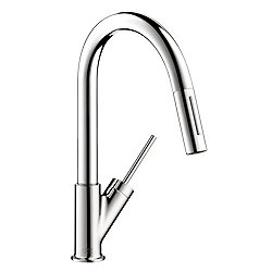 Starck 2-Spray Prep Kitchen Faucet Pull Down