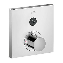 ShowerSelect Square Thermostatic One Function Trim
