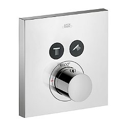 ShowerSelect Square Thermostatic Two Function Trim