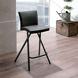 Ethan Leather Bar Stool