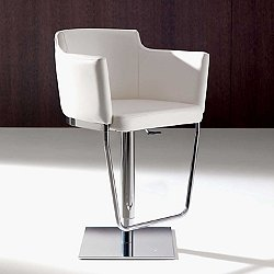Geordie Height Adjustable Swivel Bar Stool