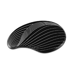 Contour Coaster Set of 2, Black