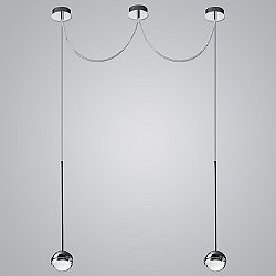 Convivio Multi-Light Pendant Light
