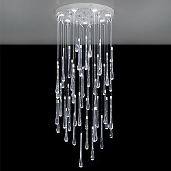 Lacrima LED Flush Mount Ceiling Light