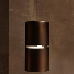 Luz Oculta Metal Mini Pendant Light