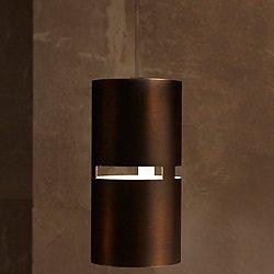 Luz Oculta Metal Mini Pendant Light