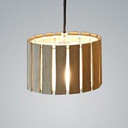 Luz Oculta Wood Mini Pendant Light