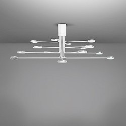 Arbor LED 16-Light Semi-Flush Mount Ceiling Light