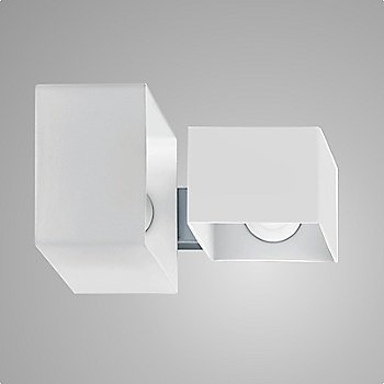 White with White Glass Diffusers