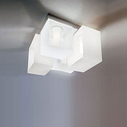 Domino 4-Light Ceiling / Wall Light