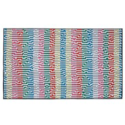 Mini White Waves Beach Towel